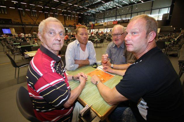 Västergötland bästa Distriktslag - Divert Carlsson, Ricky Johansson, Bo Lantz och Jörgen Lantz