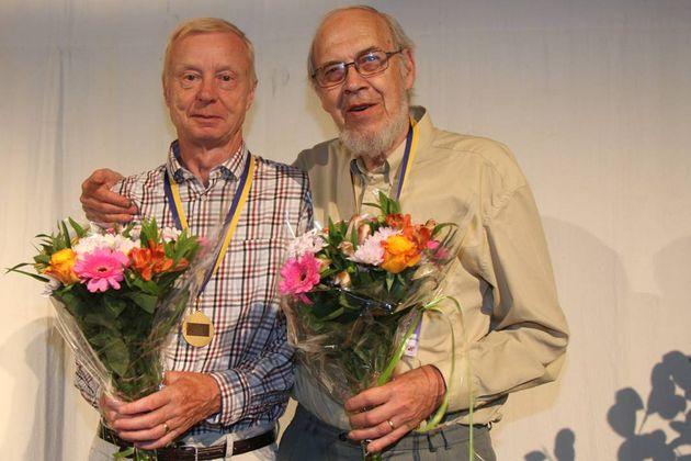 3:a ... Rolf Selander och Bertil-G Johnson, Örebridgen