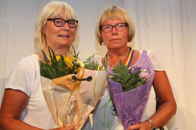 2:a ... Catharina Ahlesved och Maria Grönkvist, Örebridgen